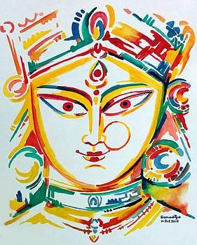 Durga - The Goddess of Power by Somaditya Das