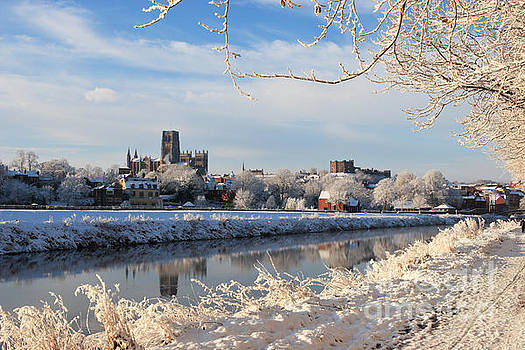 Durham at Xmas by Bryan Attewell