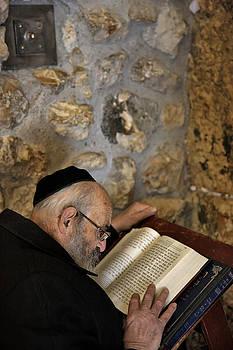 Zoriy Fine - During the reading of the Torah. Jerusalem. Wailing Wall