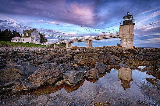 Dusk at Marshall Point by Rick Berk