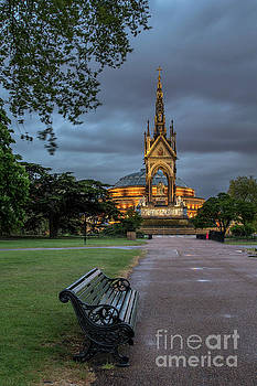 Dusk at the Albert Memorial by Howard Ferrier