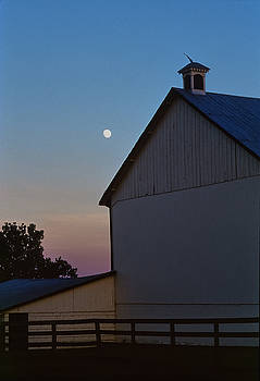 Dusk, Bascule Farm, Poolesville, Maryland, Summer, 2001 by James Oppenheim