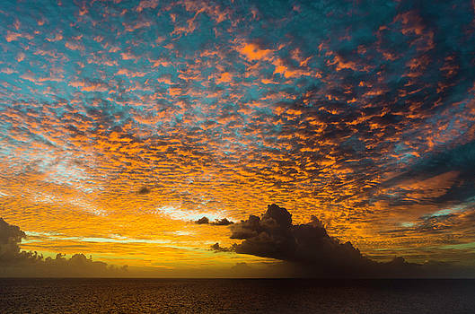 Dusk, East of Barbados by John Roach