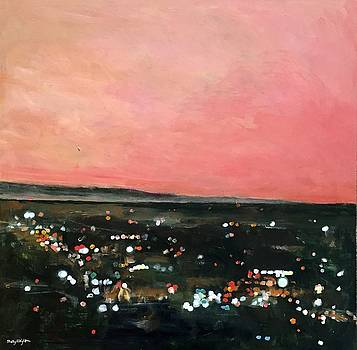 Dusk in the Valley by Molly Wright