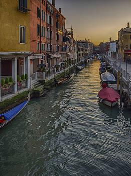 Stephen Barrie - Dusk in Venice