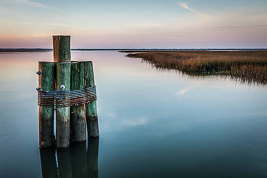 Dusk on Dewees  by Donnie Whitaker