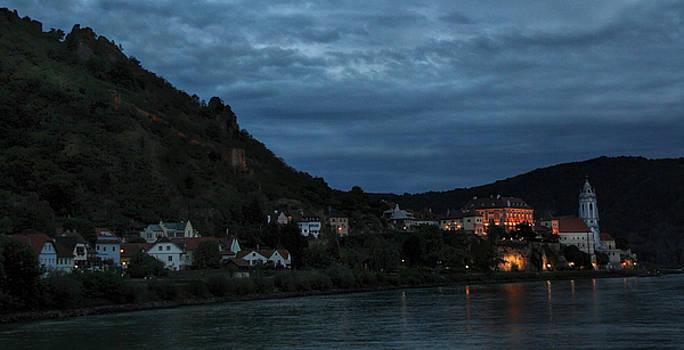 Dusk on the Danube by Deborah Jahier