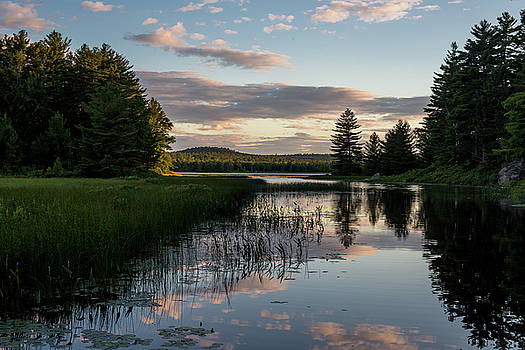 Dusk on the Water by Brent L Ander