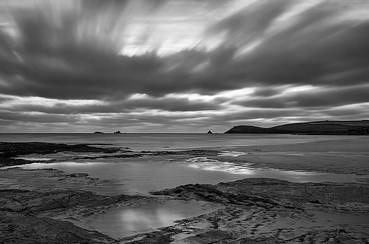 Dusk over Constantine Bay  by Pete Hemington