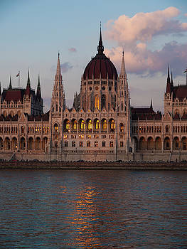 Dusk Over Parliament by Rae Tucker