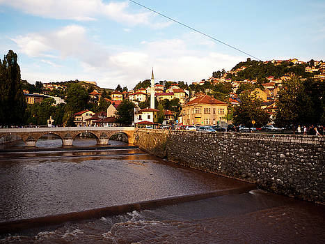 Dusk Over Sarajevo by Rae Tucker