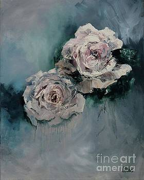 Dusky Roses by Chris Hobel