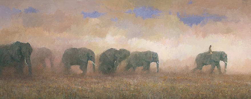Dust Riders by Steve Mitchell
