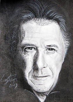 Dustin Hoffman by Raymond Potts
