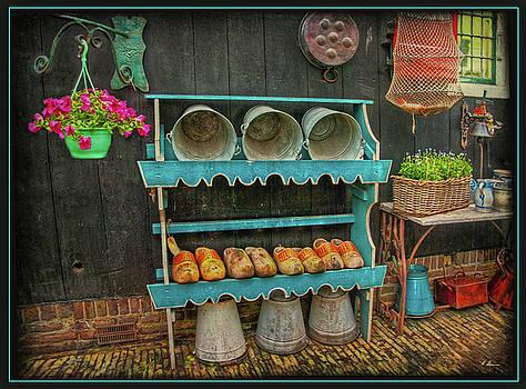 Dutch Backyard by Hanny Heim