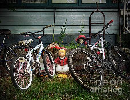 Dutch Boy's Bicycles by Craig J Satterlee