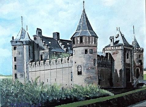 Dutch Castle in Muiden by Francine Heykoop