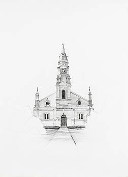 Dutch Reformed Church Pearston by Dawid Theron