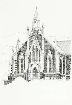 Dutch Reformed Church Piketberg by Dawid Theron