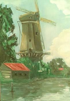 Ilona MONTEL - Dutch Windmill