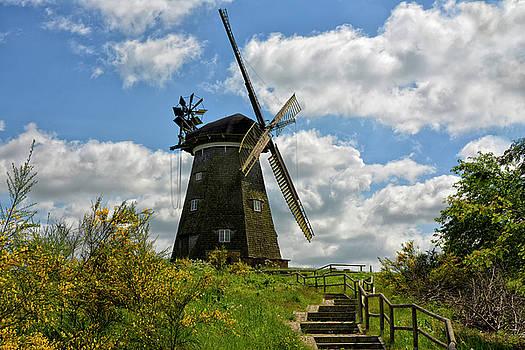 Dutch windmill by Joachim G Pinkawa
