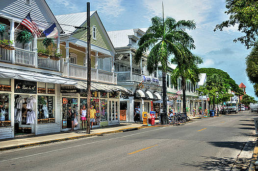 Duval Street - Key West by Timothy Lowry