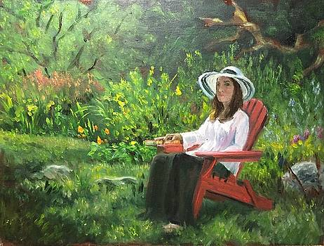 Duveneck Reader by Aline Lotter