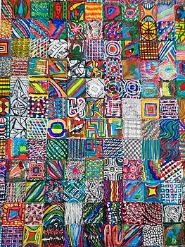 Duvet and Throw Cushion - 02 by Mudiama Kammoh