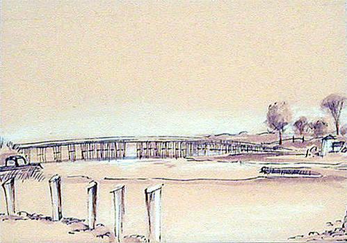 Duxbury Bridge by Robert Harvey