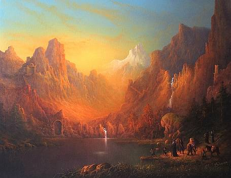Dwarven Kingdom by Ray Gilronan