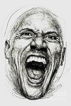Dwayne The Rock Johnson by Michael Volpicelli