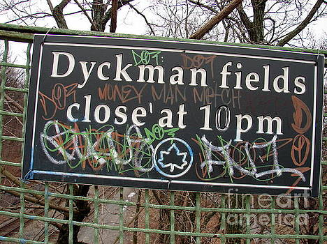Dyckman Fields by Cole Thompson