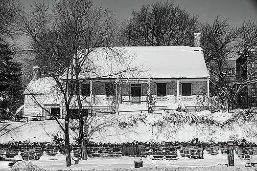 Dyckman House Winter by Cole Thompson