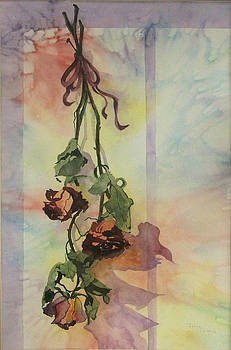 Dying Roses by Jerry Kelley