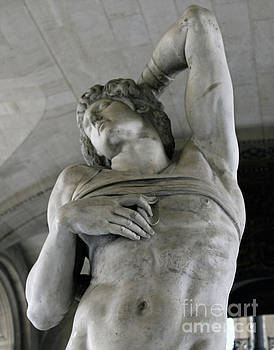 Gregory Dyer - Dying Slave by Michelangelo BW