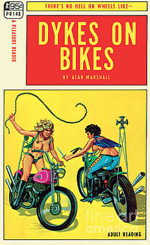 Dykes On Bikes by Unknown Artist