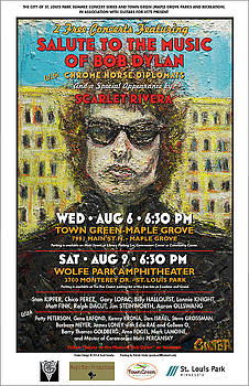Dylan poster by Patrick Ginter