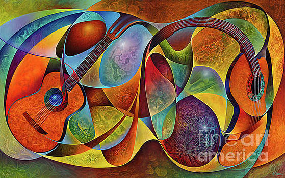 Ricardo Chavez-Mendez - Dynamic Guitars Diptych