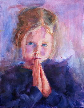 E Praying Two by Mary Haas