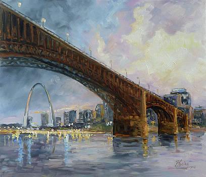 Eads Bridge - St.Louis by Irek Szelag