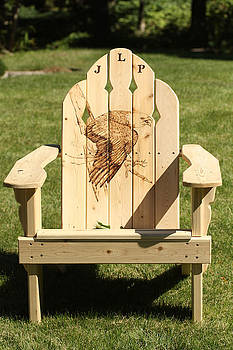 Eagle Adirondack Chair by Angel Abbs-Portice
