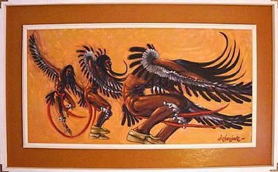 Eagle Dancer by Larry Wetherholt