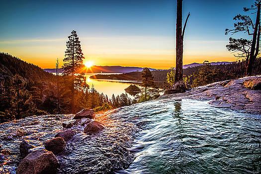 Eagle Falls Sunrise by Tony Fuentes