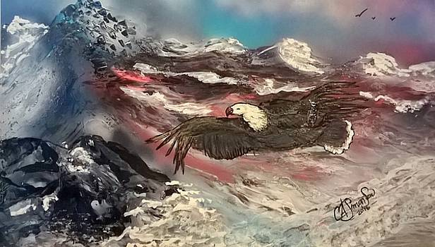 Eagle Flight by CA Simonson