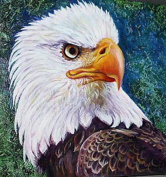 Eagle by Guylaine Leblanc