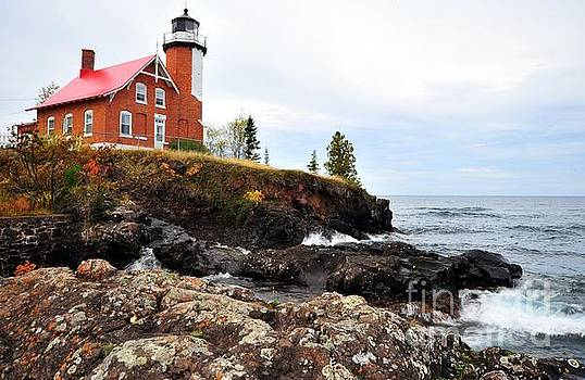 Eagle Harbor Light by Terri Gostola