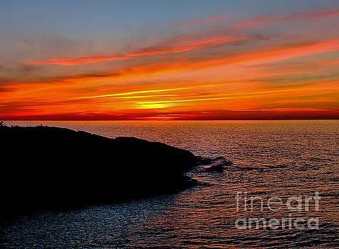 Matthew Winn - Eagle Harbor Sunset