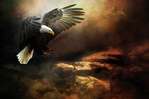 Eagle Is Landing by Theresa Campbell