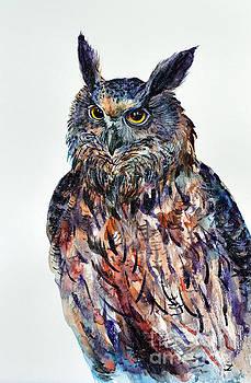 Zaira Dzhaubaeva - Eagle-owl
