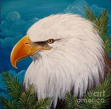 Eagle Portrait  by Renee Hilimire